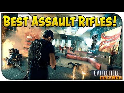 Battlefield Hardline - Best Assault Rifles Gameplay! (blood Money Double Xp!) [pc] video