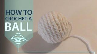 How to Crochet Around a Styrofoam Ball