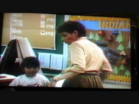News channel 9 Rusk Elementary School 1987 El Paso TX