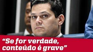 Sergio Moro estaria preso ou cassado se fosse parlamentar, diz Davi Alcolumbre