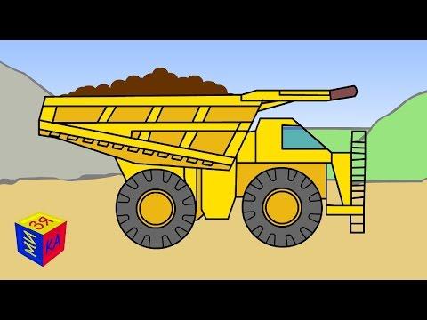 Транспорт и техника для малышей. Мультик-презентация для детей