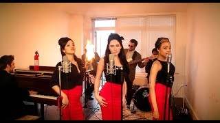 Download Lagu Burn - Vintage '60s Girl Group Ellie Goulding Cover with Flame-O-Phone Gratis STAFABAND
