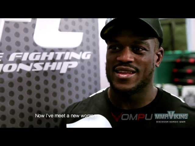 Papy Abedi Post Fight Interview UFC on Fuel 9 UFC in Sweden 2