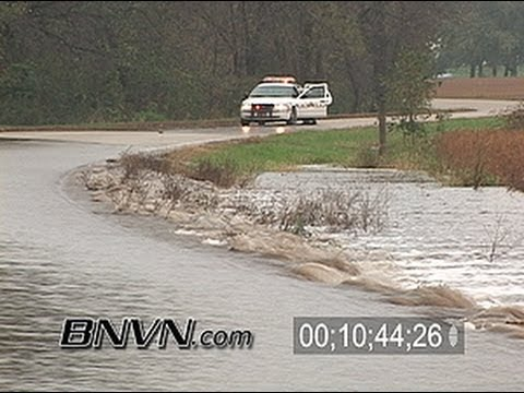 10/1/2007 Dodge County, MN Flash Flooding Footage
