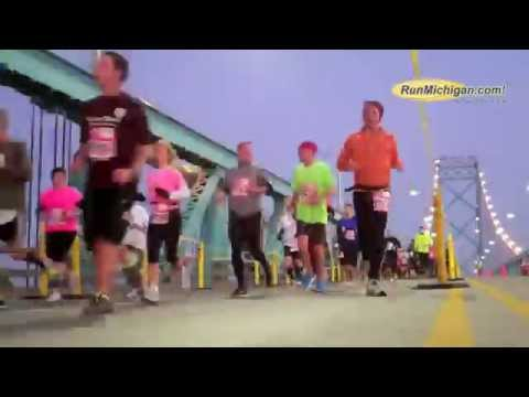 2012 Detroit Free Press Marathon - Ambassador Bridge Time-lapse