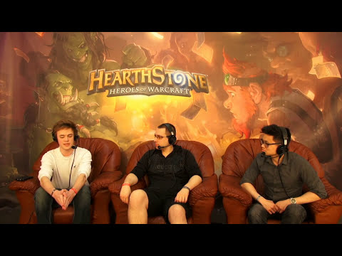 DHB 14 NESCAFE HearthStone - ZMIN vs REYNAD (interview with REYNAD)