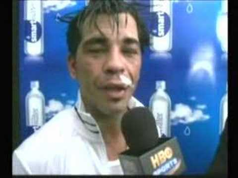 Arturo Gatti announces his retirement