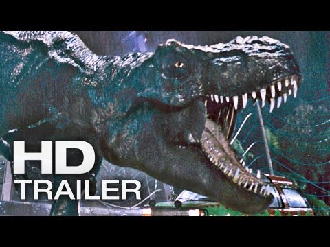 Exklusiv: JURASSIC PARK 3D Trailer Deutsch German | 2013 Official Spielberg [HD]