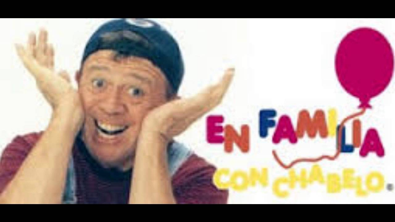 Chabelo garabato colorado youtube for En familia con chabelo