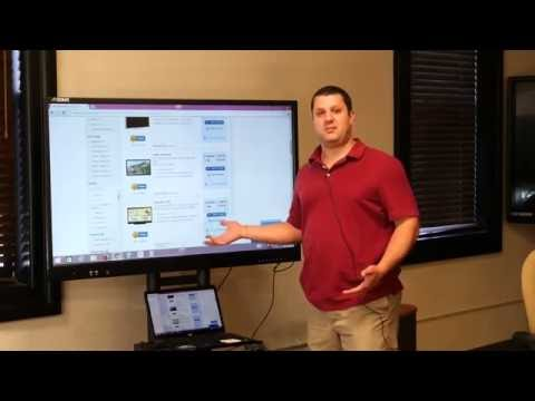 Smarboard or interactive LCD/LED (smart board vs smart tv) demo/review