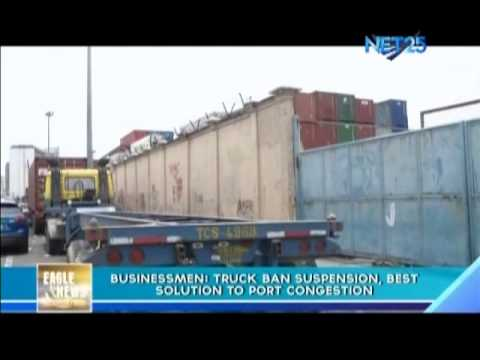 Businessmen: Truck Ban Suspension, Best Solution to port Congestion