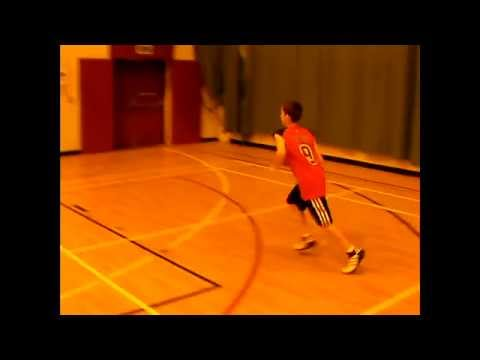 Jay Parnell age 12 biggest Luol Deng and Chicago Bulls fan basketball drills and shooting hoops