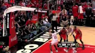 Josh Smith Amazing Defense vs Bulls