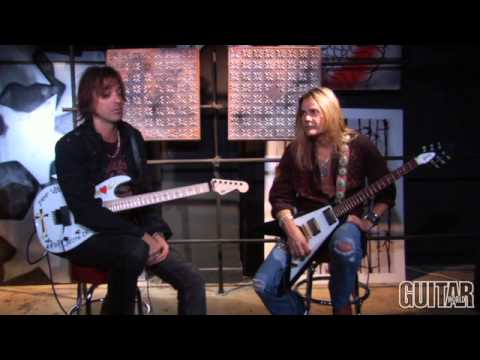 Ratt - Exclusive Interview and Guitar Lesson (Part #1)