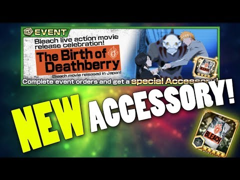 New Accessory In Celebration Of The Live Action Movie! [Bleach Brave Souls]