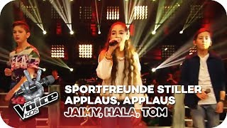 Sportfreunde Stiller - Applaus, Applaus (Jaimy, Hala, Tom) | Battles | The Voice Kids 2016