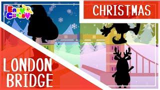Christmas Kids Songs and Chants - London Bridge Xmas | Easy Cheesy English