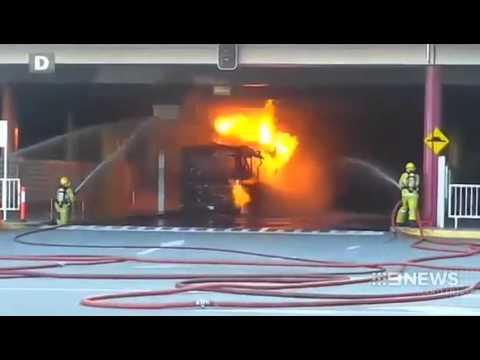 Busport Inferno   9 News Perth