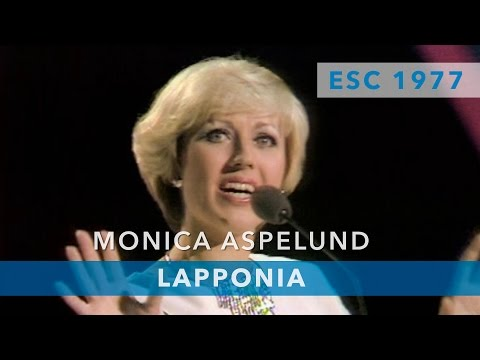 Monica Aspelund - Lapponia (Eurovision Song Contest 1977)