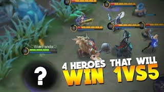 Most OP Heroes in New Christmas Mode Mobile Legends Gameplay