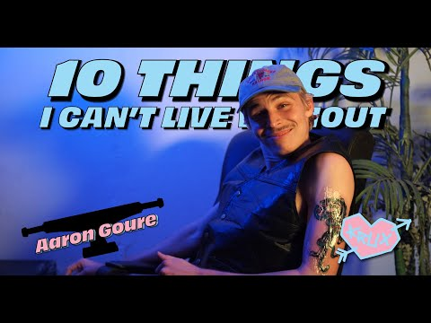 10 THINGS AARON GOURE CAN'T LIVE WITHOUT! | Krux Trucks