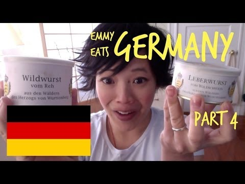 Emmy Eats Germany part 4 - more German snacks & sweets