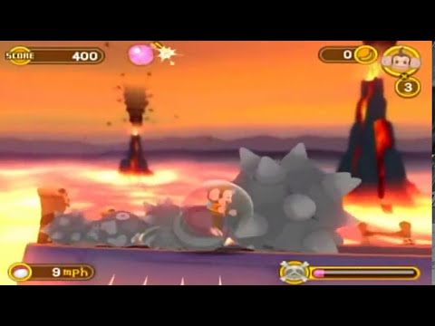 Part 7: Super Monkey Ball Banana Blitz Walkthrough: Lava Land