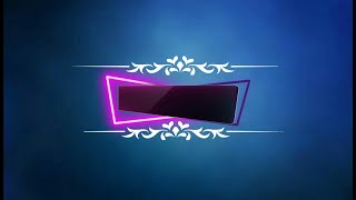 Intro no text NEON BORDERS|KINEMASTER