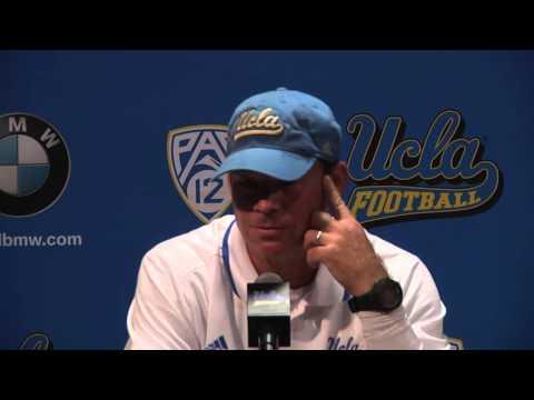 Coach Mora Colorado Post Game Press Conference