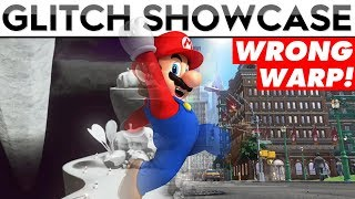 WRONG WARPING FROM DARK SIDE TO NEW DONK CITY!! | Mario Odyssey Glitch Showcase