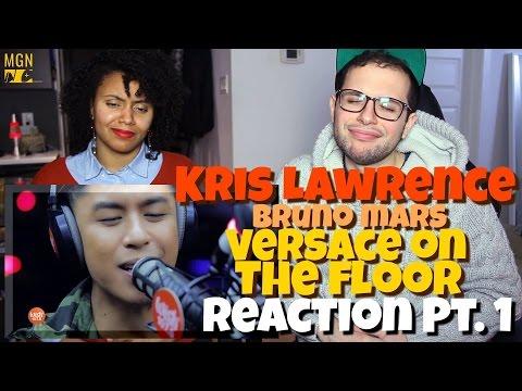 Kris Lawrence - Versace on the Floor (Bruno Mars) Reaction Pt.1