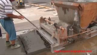 Dây chuyền sản xuất tấm tường bê tông đúc sẵn thủ công ở Trung Quốc