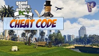 GTA 5 PC - CHEAT CODE IN GAME ! [FR]