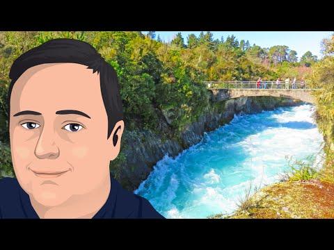 Exploring Huka Falls (New Zealand Trip)