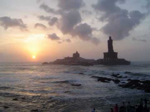 Kanniyakumari Sun Rise and Sun Set
