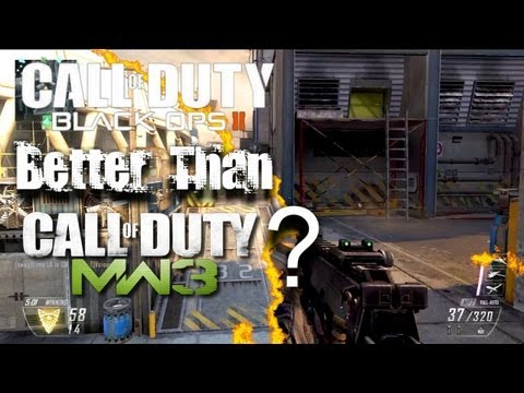 Is Black Ops 2 BETTER Than MW3? | MP7 Gameplay
