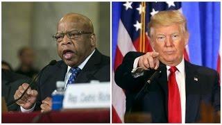 Trump attacks civil rights legend John Lewis on Twitter