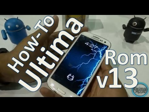 [How To] Instala: Ultima Rom v13 para Galaxy S3 (Español Mx)