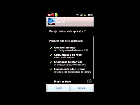 PES 2012 Android - Tutorial e download completo para instalação