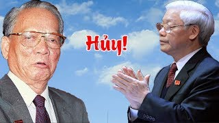 Phút cuối BCT quyết định hủy quốc tang Lê Đức Anh vì Nguyễn Phú Trọng đang hấp hối
