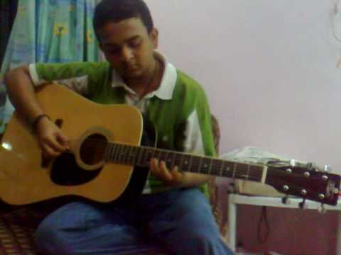 TUM KO PAYA HAI TO on GUITAR by me ANUP