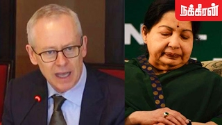 Dr Richard Beale about Jayalalitha Treatment Details