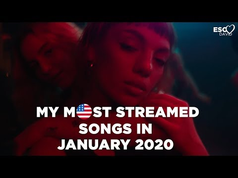 MY MOST STREAMED SONGS IN JANUARY 2020