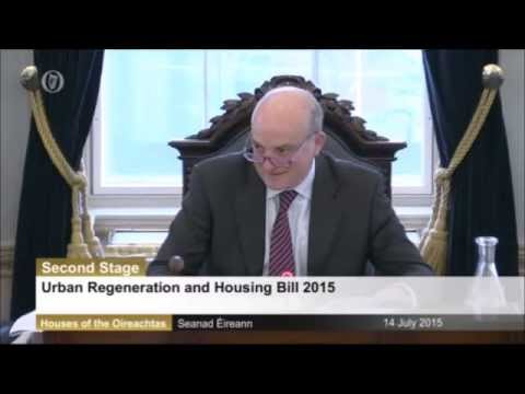 Senator David Norris voices his disapproval of Germany's treatment of Greece
