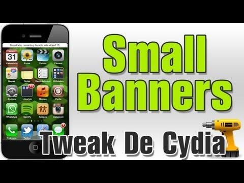 SmallBanners   Banners mas pequeños para tus notificaciones