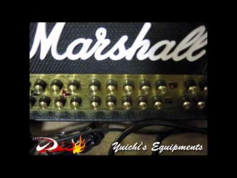 Marshall JVM 410H と BOSS GT-6 のMIDI接続方法