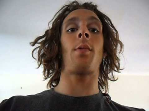 NEGLECT METHOD DREADLOCKS. LOUKAS . FIRST VIDEO BLOG , 5 MONTHS IN (its happening)