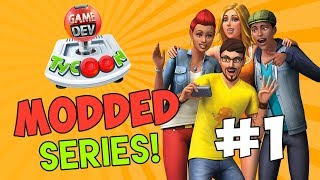 MAKING THE SIMS - Game Dev Tycoon Modded #1