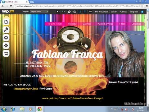FABIANO FRANÇA CD NOVO HINOS 2014 GOSPEL Forró Louvor pregaçao dvd play back Louvor e Som completo