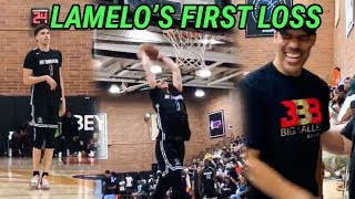 LaMelo Ball Suffers FIRST LOSS In Drew League! Still Gets Saucy & Drops A Light 26 POINTS!